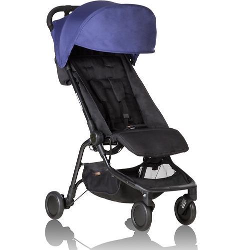 Прогулочная коляска Mountain Buggy Nano V2 Синяя (10)