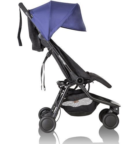 Прогулочная коляска Mountain Buggy Nano V2 Синяя (12)