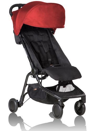 Прогулочная коляска Mountain Buggy Nano V2 Красная (10)