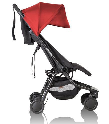 Прогулочная коляска Mountain Buggy Nano V2 Красная (12)