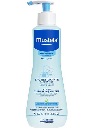 Очищающая вода Mustela для новорожденных и детей 300 мл (1)