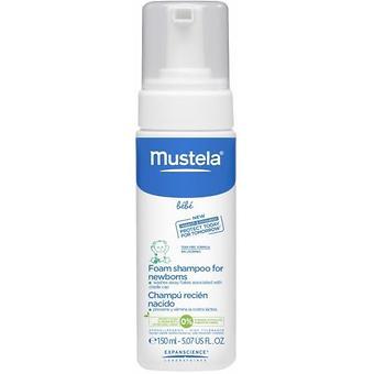 Пенка-шампунь Mustela для новорожденных 150 мл - Minim