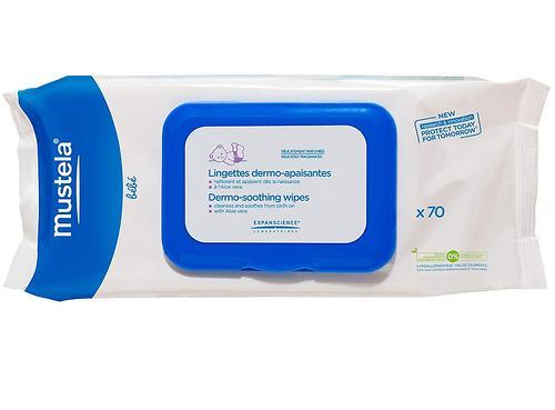 Mustela Очищающие салфетки для тела 70 шт (1)