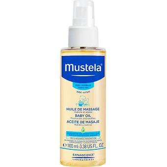 Массажное масло Mustela 110мл - Minim