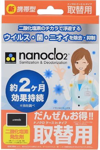 Блокатор вирусов для индивидуальной защиты NANOCLO2 сменная карта (4)
