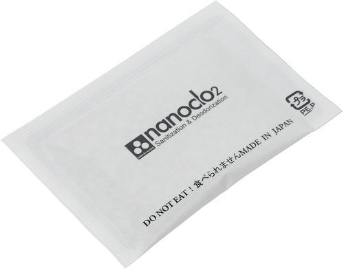 Блокатор вирусов для индивидуальной защиты NANOCLO2 сменная карта (5)