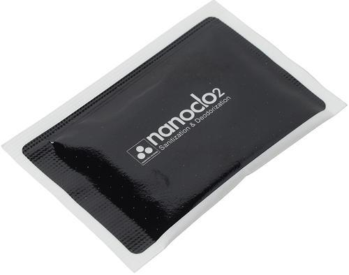 Блокатор вирусов для индивидуальной защиты NANOCLO2 сменная карта (6)