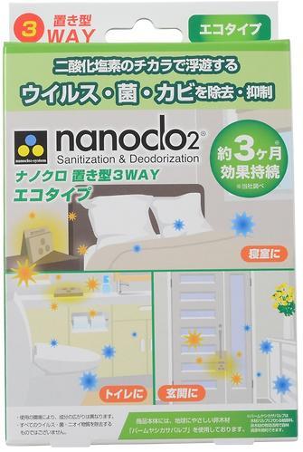 Блокатор вирусов для помещений NANOCLO2 контейнер с крючком (4)