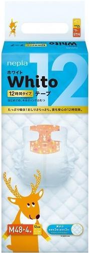 Подгузники Whito 12 часов M 6-11 кг 48 шт (3)