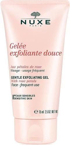 Гель-скраб Nuxe Rose Petals очищающий для лица 75мл (1)