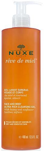 Гель очищающий Nuxe Reve de Miel для лица и тела 400мл (1)