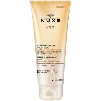 Гель-душ Nuxe Sun для волос и тела 200 мл - Minim