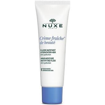 Флюид Nuxe Creme Fraiche для комбинированной кожи 48-Ч действия 50мл - Minim