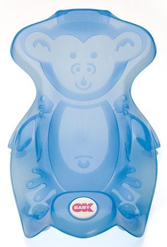 Горка для купания Ok Baby Monkey Синяя (5)
