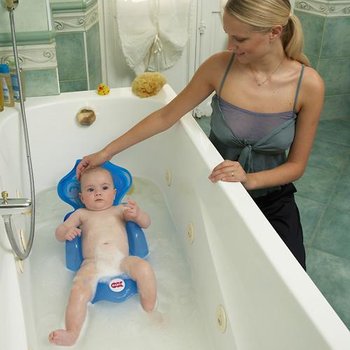 Горка для купания Ok Baby Monkey Синяя (6)