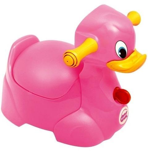 Горшок Ok Baby Quack розовый 66 (4)