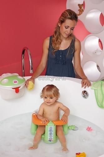 Сиденье в ванну Ok Baby Crab Бирюзовое (5)