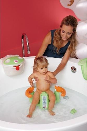 Сиденье в ванну Ok Baby Crab Бирюзовое (6)