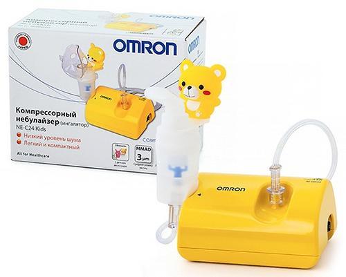 Небулайзер Omron компрессорный C24 Kids (7)