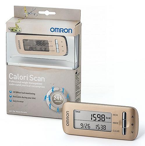 Шагомер Omron CaloriScan HJA-306 Gold (7)