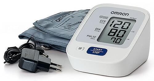 Тонометр Omron M2 Basic (манжета 22-32 см, адаптер) (6)