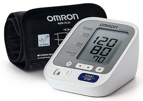Тонометр Omron M3 Comfort (манжета Intelli Wrap 22-42 см) (7)