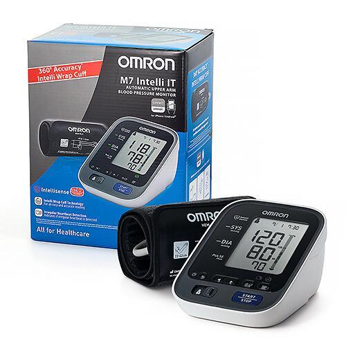 Тонометр Omron автоматический M7 Intelli IT с возможностью подключения к смартфоту (10)