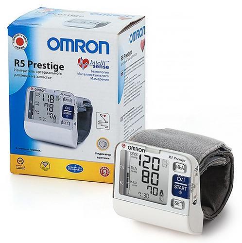 Тонометр Omron R5 Prestige автоматический на запястье (9)