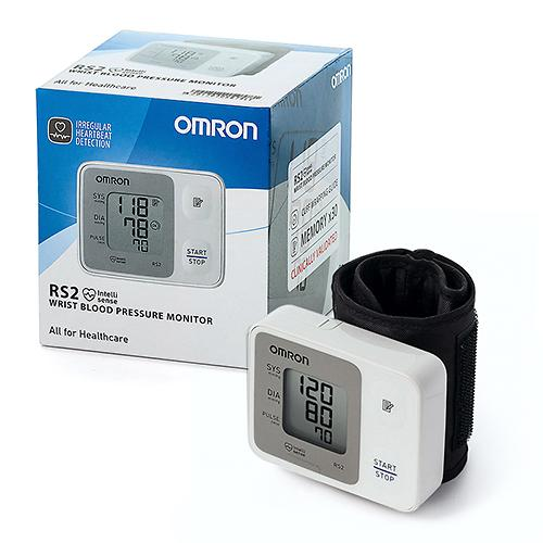 Тонометр Omron RS2 автоматический на запястье (8)