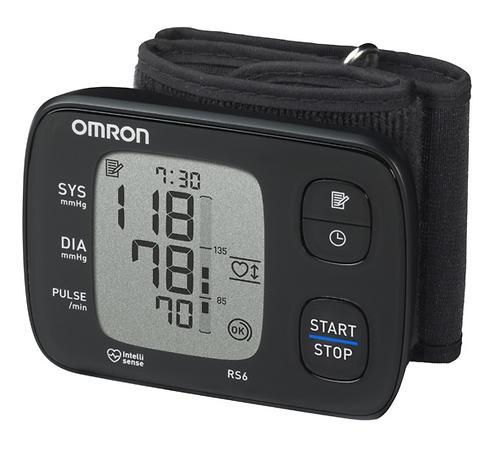 Тонометр Omron RS6 автоматический на запястье (7)
