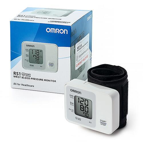 Тонометр Omron RS1 автоматический на запястье (6)