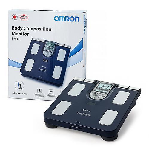 Весы Omron BF511 Blue (9)