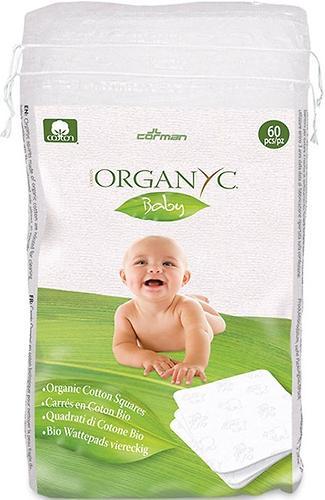 Детские ватные подушечки Organyc из органического хлопка, 60 шт. (1)
