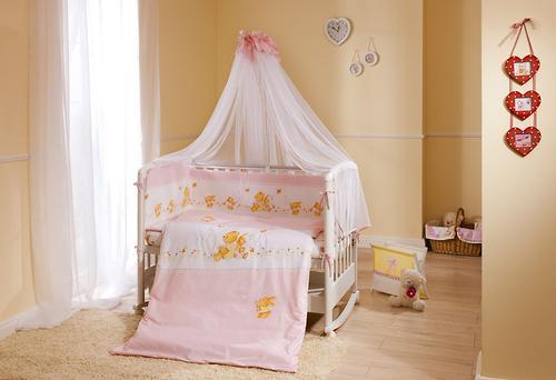 Постельное белье Perina Фея Лето розовое 7 предметов (6)