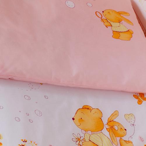 Постельное белье Perina Фея Лето розовое 7 предметов (8)