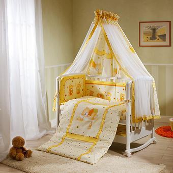 Постельное белье Perina Ника Мишка на подушке бежевый 7 предметов - Minim