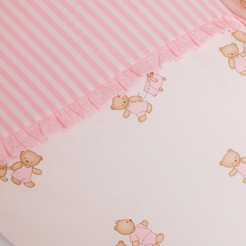 Постельное белье Perina Тиффани Неженка розовая 7 предметов (9)