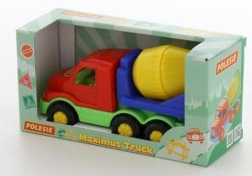 Автомобиль-бетоновоз Полесье Максик в коробке (4)