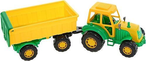 Трактор с прицепом Мастер (4)