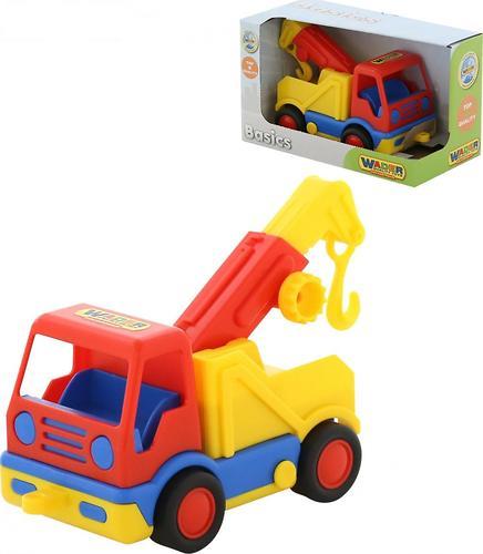 Автомобиль-эвакуатор Полесье Базик в коробке (1)