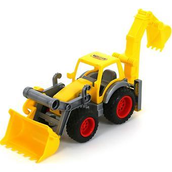 Трактор-погрузчик Полесье с ковшом КонсТрак в коробке - Minim