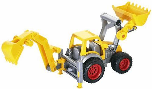 Трактор-погрузчик Полесье с ковшом КонсТрак в коробке (6)