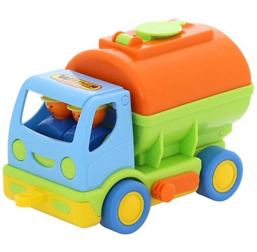Автомобиль с цистерной Полесье Мой первый грузовик в коробке (3)