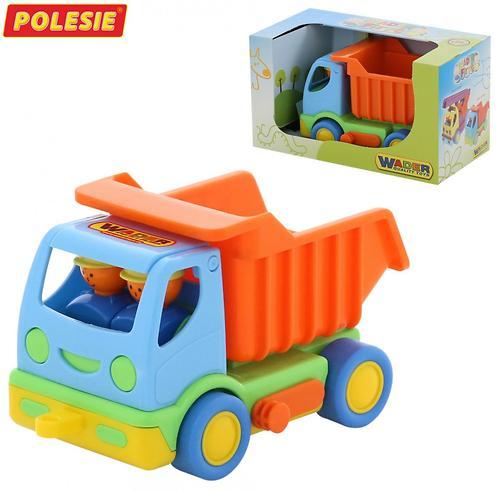 Автомобиль самосвал Полесье Мой первый грузовик в коробке (1)