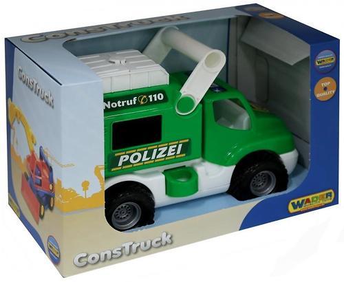 Автомобиль Полесье КонсТрак-Полиция (4)