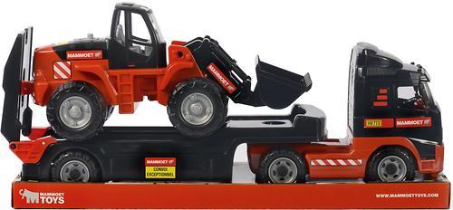 Автомобиль-трейлер+трактор-погрузчик Полесье 204-03 Mammoet Volvo (8)