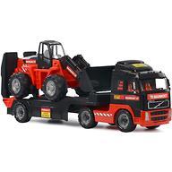 Автомобиль-трейлер+трактор-погрузчик Полесье 204-03 Mammoet Volvo