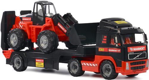 Автомобиль-трейлер+трактор-погрузчик Полесье 204-03 Mammoet Volvo (5)