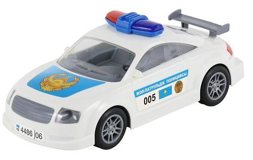 Автомобиль Полесье ДПС Казахстан инерционный (8)