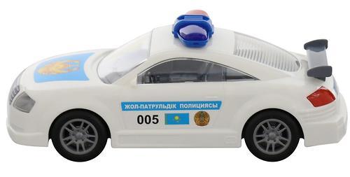 Автомобиль Полесье ДПС Казахстан инерционный (7)